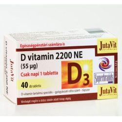 JUTAVIT D3-VITAMIN 2200 NE TABLETTA 40 db