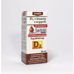 JUTAVIT D3-VITAMIN CSEPPEK 30 ML 30 ml