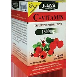 JUTAVIT C-VITAMIN 1500 MG TABLETTA 100 db