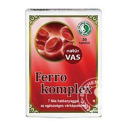 DR.CHEN FERRO KOMPLEX KAPSZULA 30 db