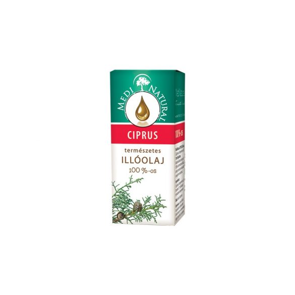 Medinatural ciprus illóolaj 100% 10 ml