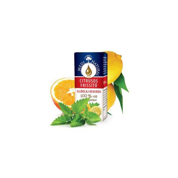 Medinatural citrusos frissítő 100% illóolaj keverék 10 ml