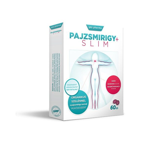 YESPHARMA PAJZSMIRIGY+SLIM TABLETTA 60 db