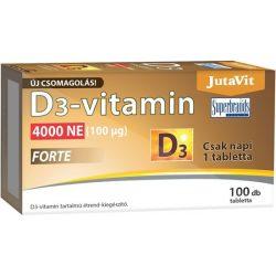 JUTAVIT D3-VITAMIN FORTE 4000 NE TABL. 100 db