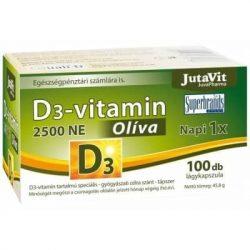 JUTAVIT D3-VITAMIN OLÍVA LÁGYKAPSZ.100DB 100 db