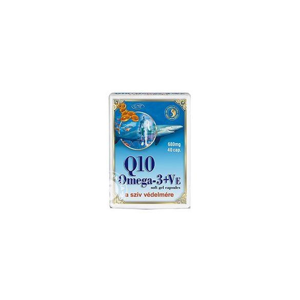 DR.CHEN Q10+OMEGA-3 HALOLAJ KAPSZULA 40 db