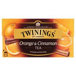 TWININGS NARANCS-FAHÉJ TEA 25X2G 50g