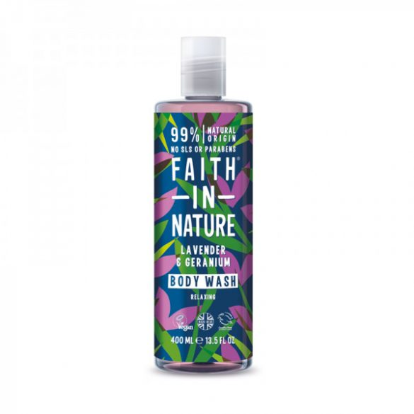 FAITH IN NATURE TUSF. LEVENDULA 400ML 400 ml