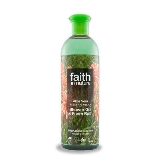 Faith In nature tusfürdő aloe vera-ylang ylang 400 ml