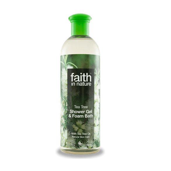 Faith In nature tusfürdő teafa 400 ml