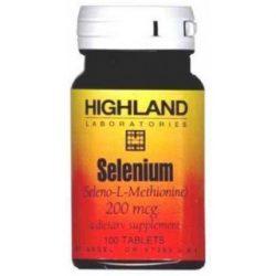 HIGHLAND SELENIUM TABLETTA 100 DB 100 db