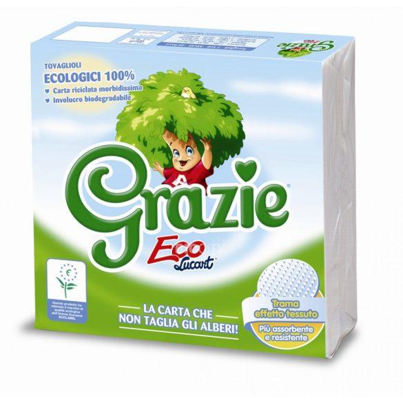 Grazie Natural simple öko szalvéta 200 db
