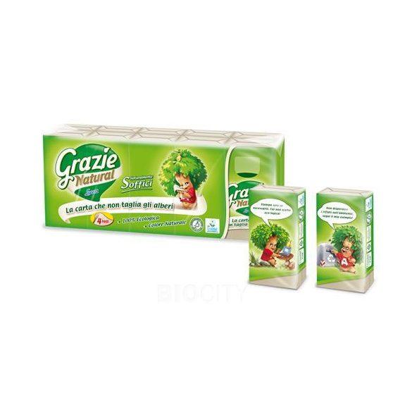 Grazie Natural papírzsebkendő dobozos 1 db