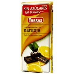 TORRAS ÉTCSOKOLÁDÉ NARANCSOS CM.GM. 75 g