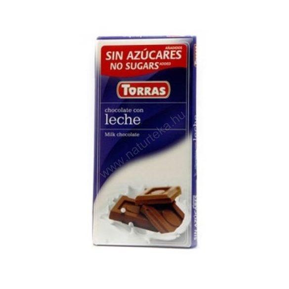 TORRAS TEJCSOKOLÁDÉ CM.GM. 75 g
