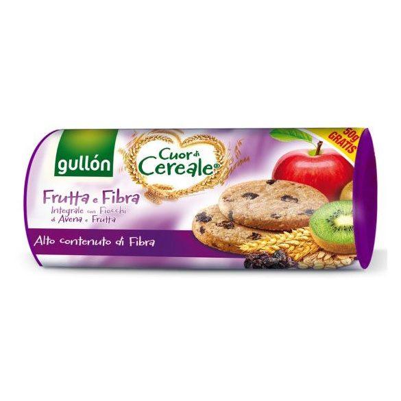 Gullón élelmi rostban gazdag gabonakeksz gyümölccsel 300 g
