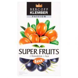 KLEMBER SUPER FRUIT TEA HOMOKTÖVIS-ACAI
