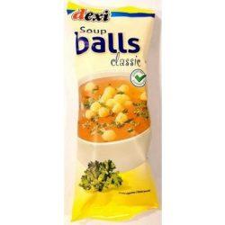 DEXI SOUP BALLS LEVESGYÖNGY SAJTTAL GM. 50 g