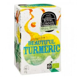 ROYAL GREEN BIO TEA KURKUMA & CITROM 16 filter
